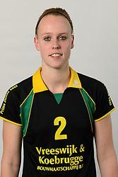 29-10-2014 NED: Selectie Prima Donna Kaas Huizen vrouwen, Huizen<br /> Selectie seizoen 2014-2015 / Danielle Bosman