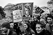 Hundreds of thousands March past the National Gallery of Art on January 21, 2017 in Washington, for the Women's March on Washington.  Photo by Pete Marovich/UPI
