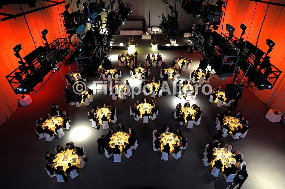 &copy; Filippo Alfero<br /> Cena Fiat Powertrain Technologies presso i Lumiq Studios<br /> Torino, 22/12/2010