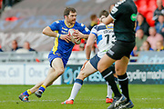 Doncaster RLFC centre Liam Welham (3) in action  during the Challenge Cup 2018 match between Doncaster and Featherstone Rovers at the Keepmoat Stadium, Doncaster, England on 22 April 2018. Picture by Simon Davies.
