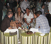 **EXCLUSIVE**.Tyra Banks, Benny Medina, Babyface with girlfriend.The Cain on The Cove Hotel Opening.Paradise Island, Bahamas.Friday, May 11, 2007 .Photo By Celebrityvibe.To license this image please call (212) 410 5354; or.Email: celebrityvibe@gmail.com ;
