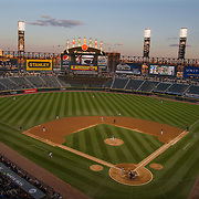 Chicago, Illinois: White Sox vs Tampa Bay at U.S. Cellular Field.<br />