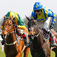 Le Reve and L Aspell winning the 2.50 race