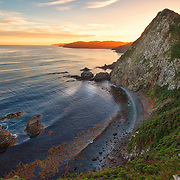 Landscape photograph from Catlins, Otago, New Zealand.