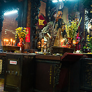 Worshipping at Jade Emperor Pagoda in Ho Chi Minh City