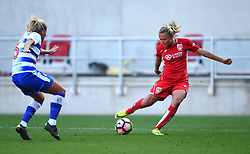 Claire Emslie of Bristol City Women in action against Reading FC Women - Mandatory by-line: Paul Knight/JMP - 22/04/2017 - FOOTBALL - Ashton Gate - Bristol, England - Bristol City Women v Reading Women - FA Women's Super League 1 Spring Series