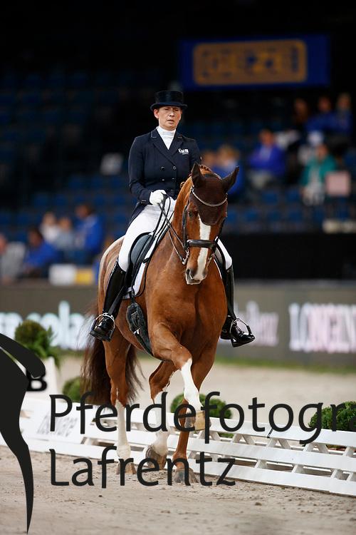 Balkenhol, Anabel (GER) Dablino FRH<br /> Stuttgart - German Masters 2016<br /> © www.sportfotos-lafrentz.de