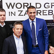 KRO/Zagreb/20130313- K1 WGP Final Zagreb, ?????????, Mike Kim, Badr Hari, Micheal Buffet
