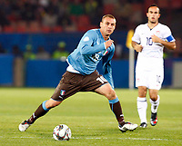 Daniele De Rossi of Italy and Roma FIFA Confederations Cup South Africa 2009 <br /> United States of America  v Italy at Loftus Versfeld  Stadium Tshwane/Pretoria South Africa<br /> 15/06/2009 Credit Colorsport / Kieran Galvin
