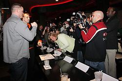 February 24, 2011; Newark, NJ; USA; Tomasz Adamek vs Kevin McBride press conference at the Brick City Bar & Grill in Newark, NJ.
