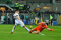 GOAL EL SHAARAWY GOL<br /> Milano 21-01-2018 Stadio Giuseppe Meazza Football Calcio Serie A 2017/2018 Inter - Roma. Foto Gino Mancini / Insidefoto