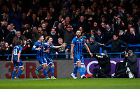 file name string: csp_roc_new_040120_<br /> headline field: FA Cup R3: Rochdale-Newcastle<br /> caption template:<br /> Football - 2019 / 2020 Emirates FA Cup - Third Round: Rochdale AFC vs. Newcastle United<br /> <br /> Aaron Wilbraham of Rochdale scores  at the Spotland Stadium (Crown Oil Arena).<br /> <br /> COLORSPORT/LYNNE CAMERON