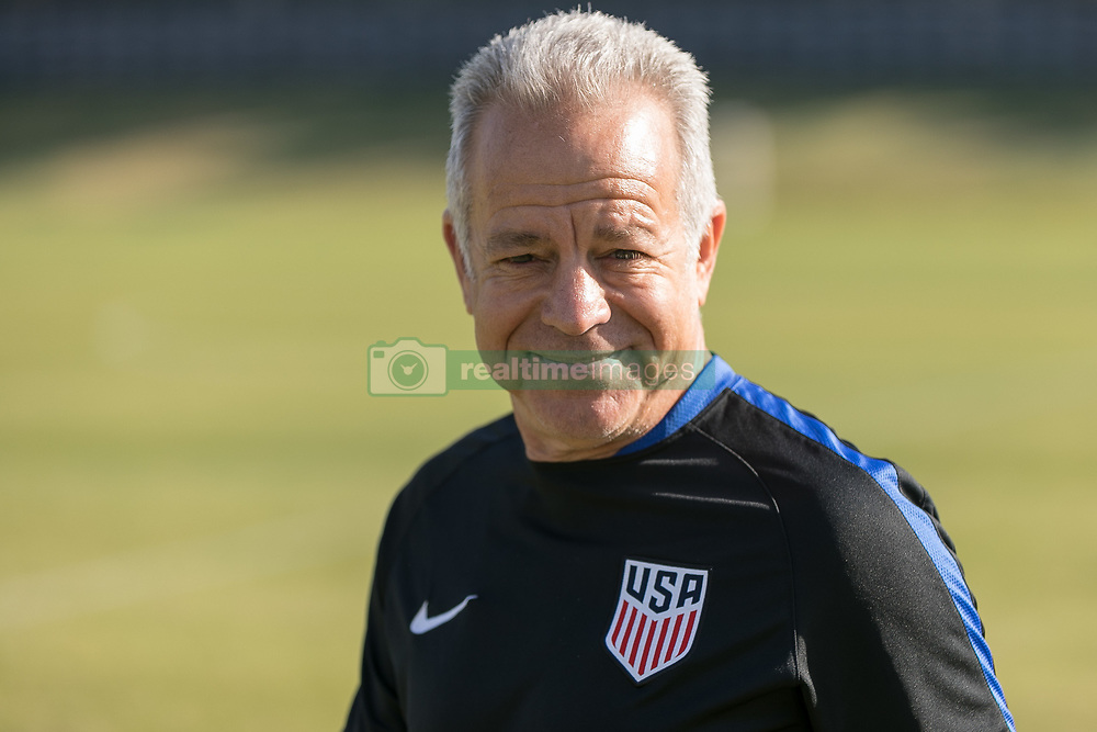 January 18, 2018 - Carson, CA, USA - Carson, CA - January 18, 2018: The USMNT trains during their annual January camp in California. (Credit Image: © John Dorton/ISIPhotos via ZUMA Wire)