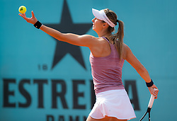 May 3, 2019 - Madrid, Spain - Mandy Minella of Luxembourg in action during qualifications at the 2019 Mutua Madrid Open WTA Premier Mandatory tennis tournament (Credit Image: © AFP7 via ZUMA Wire)