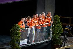 Van der Meer Patrick, Van der Schaft Rien, Van Silfhout Alex, Waagemakers Ad, Greve Jan <br /> FEI European Dressage Championships - Goteborg 2017 <br /> © Hippo Foto - Dirk Caremans<br /> 22/08/2017,