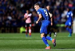 Jamie Vardy of Leicester City - Mandatory by-line: Robbie Stephenson/JMP - 02/10/2016 - FOOTBALL - King Power Stadium - Leicester, England - Leicester City v Southampton - Premier League