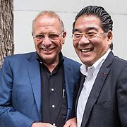 NLD/Amsterdam/20150602 - Talkies Terras award 2016, Wim Zegwaard en Won Yip