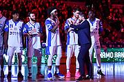 Gianmarco Pozzecco<br /> Banco di Sardegna Dinamo Sassari - Acqua San Bernardo Cantu'<br /> LBA Serie A Postemobile 2018-2019<br /> Sassari, 12/05/2019<br /> Foto L.Canu / Ciamillo-Castoria