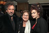 Tim Burton, Pauline Etkin and Helena Bonham Carter
