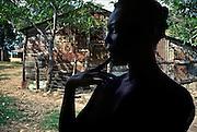 .Femme de braceros (coupeurs de canne-a?-sucres en Re?publique Dominicaine)