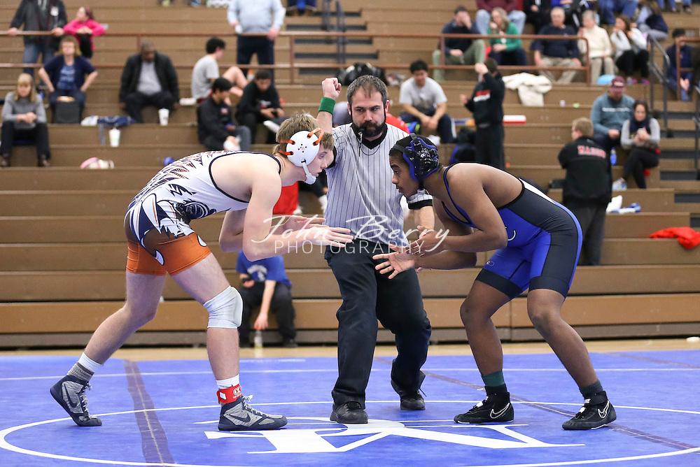 February 06, 2016.  <br /> MCHS Wrestling vs Clarke.  Conference 35 Tournament.