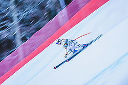 24.01.2019, Kandahar, Garmisch, GER, FIS Weltcup Ski Alpin, Abfahrt, Damen, 1. Training, im Bild Michaela Wenig (GER) // Michaela Wenig of Germany in action during her 1st training run for the ladie's Downhill of FIS ski alpine world cup at the Kandahar in Garmisch, Germany on 2019/01/24. EXPA Pictures © 2019, PhotoCredit: EXPA/ Dominik Angerer