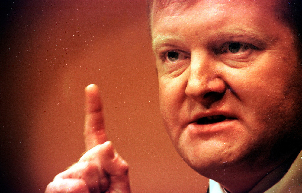 Charles Kennedy MP and Liberal Democrat Leader March 2000 at the liberal democratic spring conference Plymouth  Devon