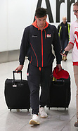 2018 Commonwealth Games - Team England Homecoming - Heathrow Airport - 17 April 2018