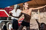Men dancing at Middle East Tek, Wadi Rum, Jordan, 2008 Middle East Tek, Wadi Rum, Jordan, 2008