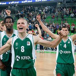20110609: SLO, Basketball - Slovenian National Championship, KK Union Olimpija vs KK Krka