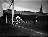 1957 - Soccer: League of Ireland v Scottish League at Dalymount Park