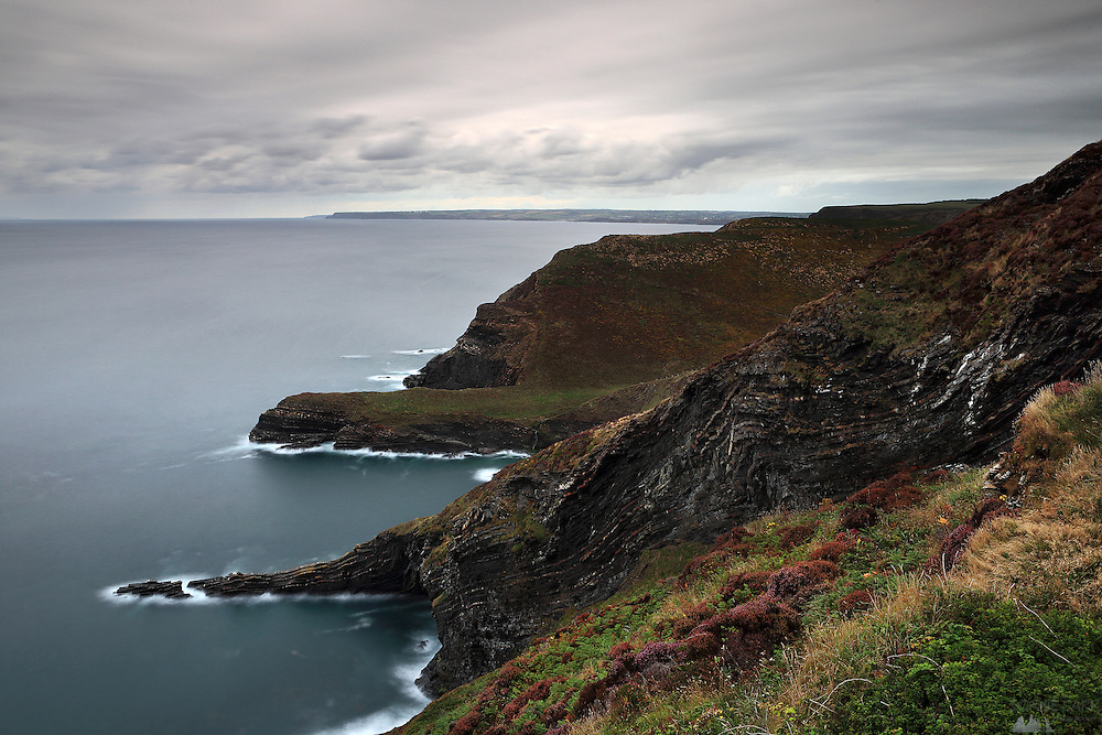 The South West Coast Path near Crackington Haven & St. Genny's in north Cornwall.