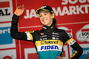 BELGIUM / NIEL / CYCLING / WIELRENNEN / CYCLISME / CYCLOCROSS / CYCLO-CROSS / VELDRIJDEN / JAARMARKTCROSS / SOUDAL CLASSICS / WOMEN / PODIUM / JOLIEN VERSCHUEREN (BEL) – TELENET-FIDEA /