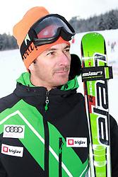 Coach Primoz Vrhovnik of Slovenia at FIS World Cup Ski cross race, on December 22, 2009 in Innichen / San Candido, Italy. (Photo by Grega Stopar)