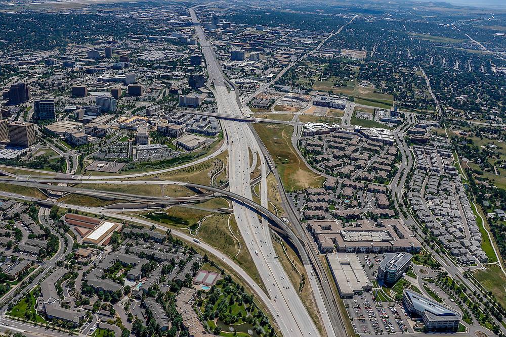 Denver Colorado Aerial Photographs - Stock Aerial Photography of Denver Colorado