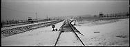 Lo scalo ferroviario che portava i prigionieri direttamente all'interno del campo