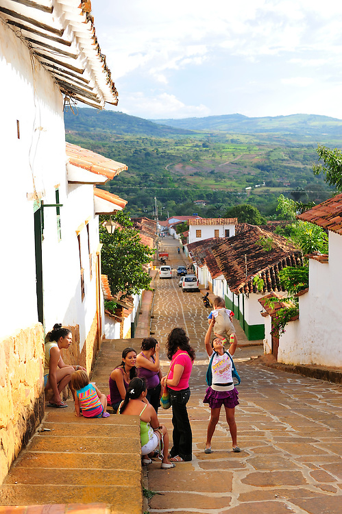 Colonial Town Barichara,Colombia,South America