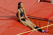 Li Ling (China), Women's Pole Vault, during the IAAF Diamond League event at the King Baudouin Stadium, Brussels, Belgium on 6 September 2019.