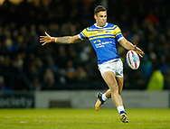Joel Moon of Leeds Rhinos during the Betfred Super League match at Emerald Headingley Stadium, Leeds<br /> Picture by Stephen Gaunt/Focus Images Ltd +447904 833202<br /> 08/03/2018