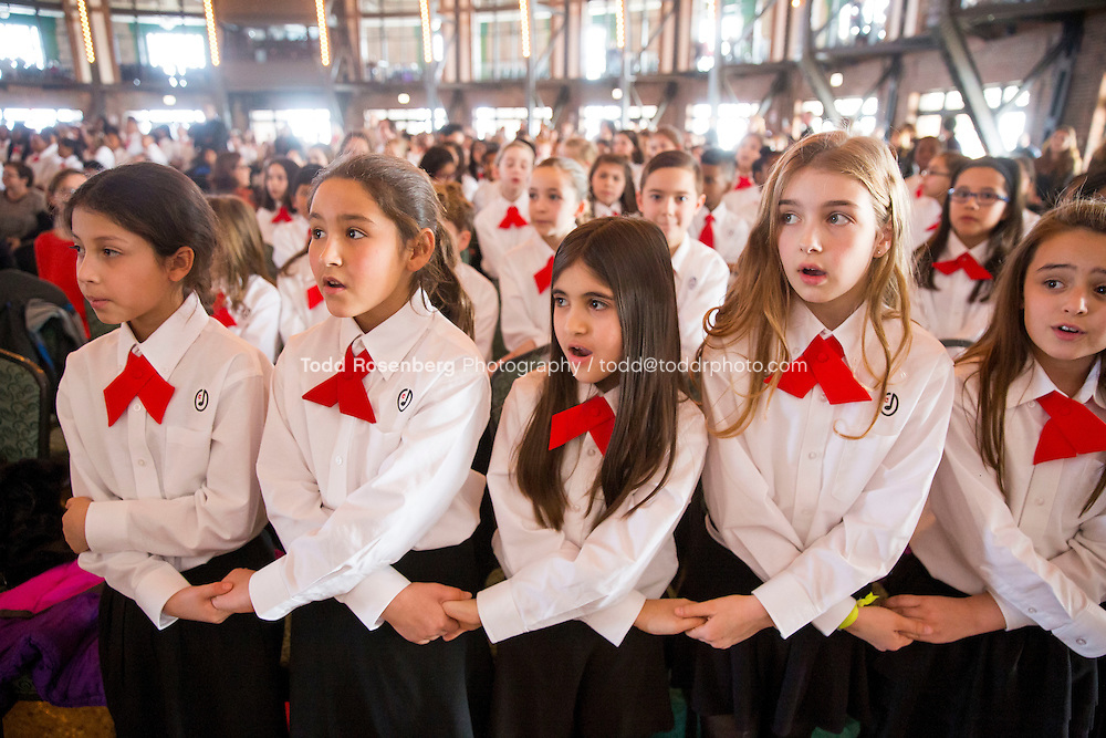 2/10/16 12:42:05 PM <br /> Chicago Children's Choir Black History Month Navy Pier Celebration. <br /> <br />  &copy; Todd Rosenberg Photography 2016