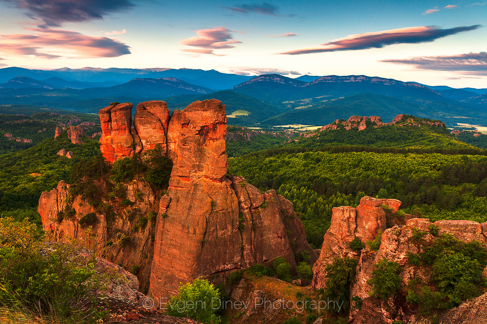 Belogradchik rocks and kaleto fortress
