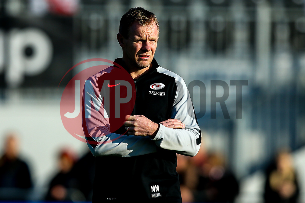 Saracens director of rugby Mark McCall - Mandatory by-line: Robbie Stephenson/JMP - 17/11/2018 - RUGBY - Allianz Park - London, England - Saracens v Sale Sharks - Gallagher Premiership Rugby