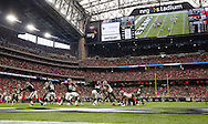 HOUSTON, TX - SEPTEMBER 27: Defense of the Tampa Bay Buccaneers during the game against the Houston Texans at NRG Stadium on September 27, 2015, in Houston, Texas. The Buccaneers lost 19-9. (photo by Mike Carlson/Tampa Bay Buccaneers)