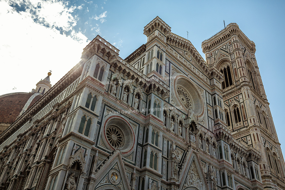Basilica di Santa Maria del Fiore (Basilica of Saint Mary of the Flower) in Florence, Italy 2014