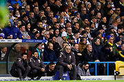 Leeds United Manager Marcelo Bielsa  during the EFL Sky Bet Championship match between Leeds United and Bristol City at Elland Road, Leeds, England on 15 February 2020.