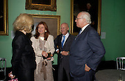 Lord and Lady Foster and Evelyn de Rothschild. Celebration of Lord Weidenfeld's 60 Years in Publishing hosted by Orion. the Weldon Galleries. National Portrait Gallery. London. 29 June 2005. ONE TIME USE ONLY - DO NOT ARCHIVE  © Copyright Photograph by Dafydd Jones 66 Stockwell Park Rd. London SW9 0DA Tel 020 7733 0108 www.dafjones.com