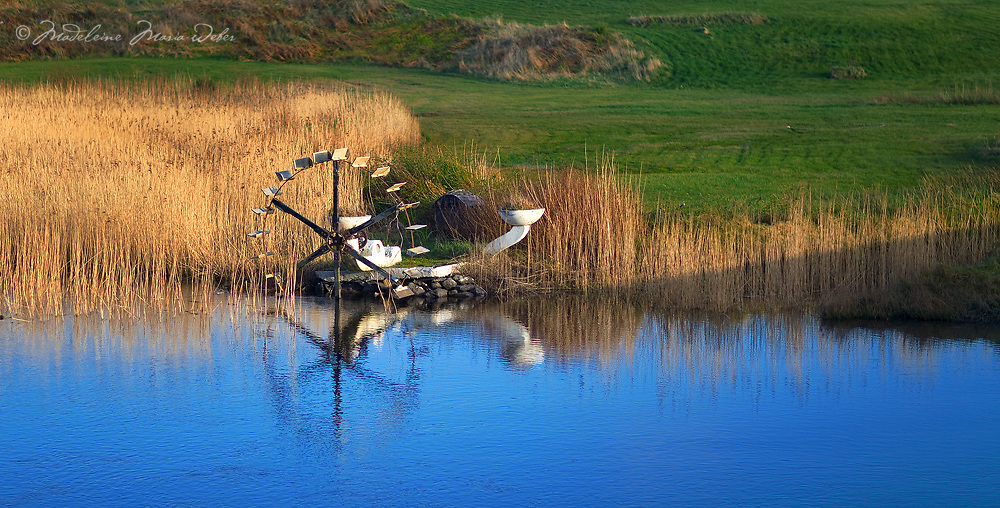 Water wheel, Waterville, County Kerry, Ireland / wv049