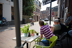 Sabrina Stultiens at Boels Rental Ladies Tour Prologue a 4.3 km individual time trial in Wageningen, Netherlands on August 29, 2017. (Photo by Sean Robinson/Velofocus)