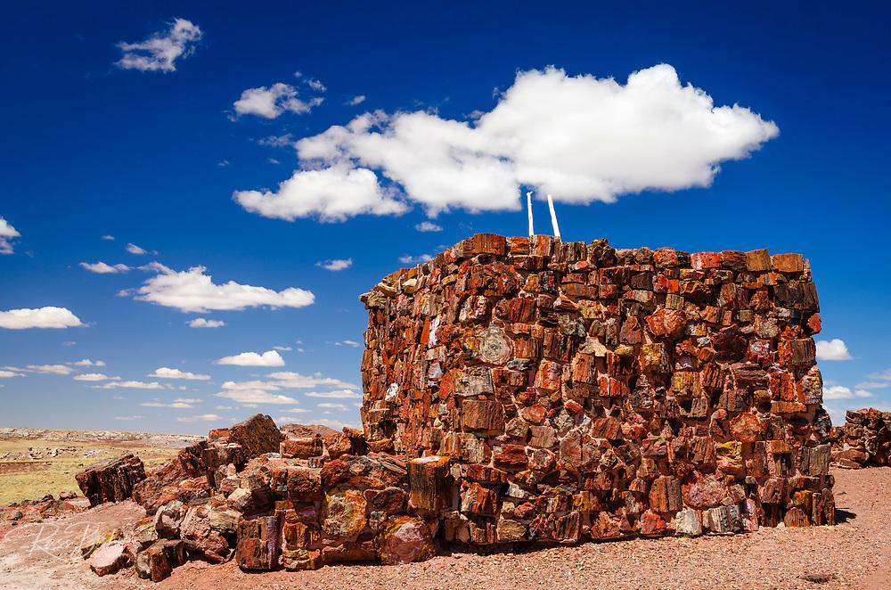 Agate House, Petrified Forest National Park, Arizona USA