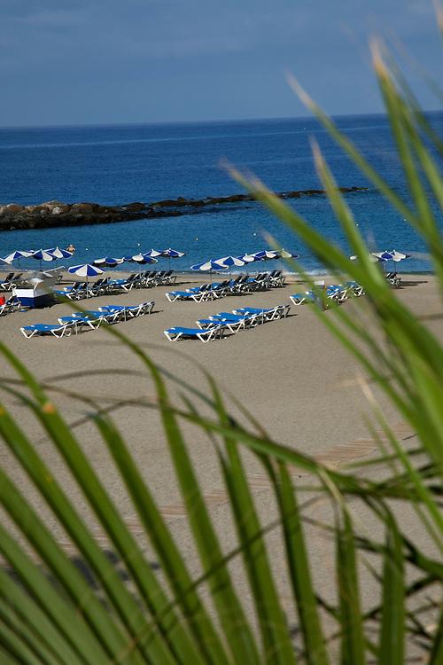 Playa Las Vistas, Los Cristianos, South Tenerife.